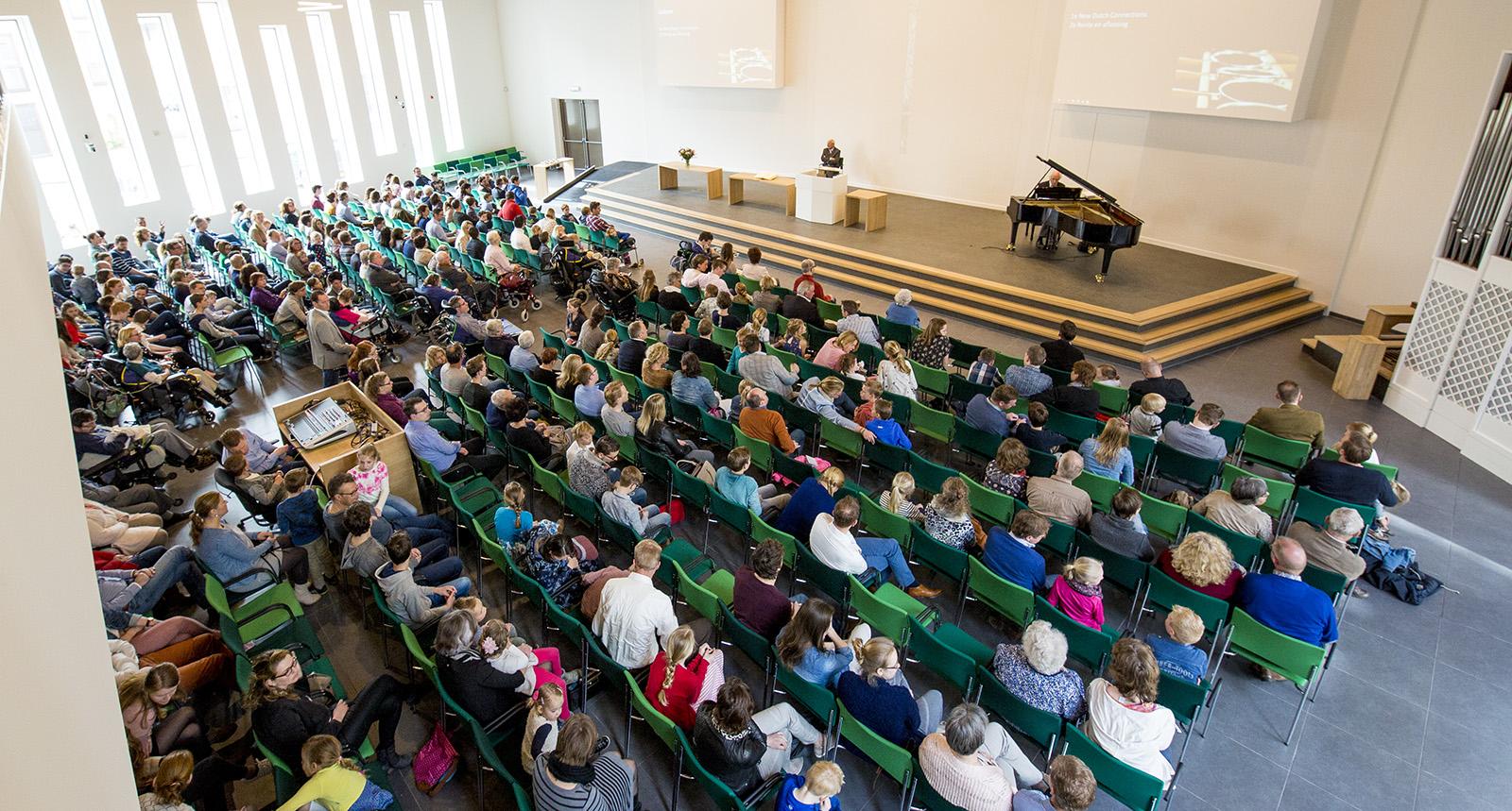 Feestelijke opening Ontmoetingskerk