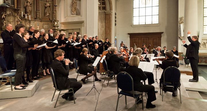 Uitvoering Cantate van Johann Sebastian Bach; BWV 22 'Jesus nahm zu sich die Zwölfe